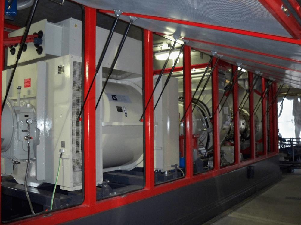 Packaged Gas Turbine