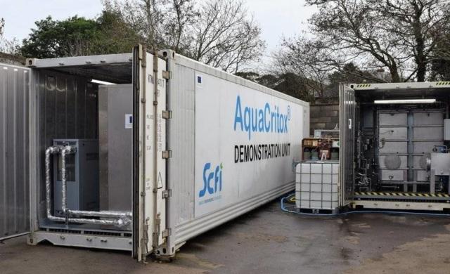 SCFI AquaCritox Demonstrator Unit
